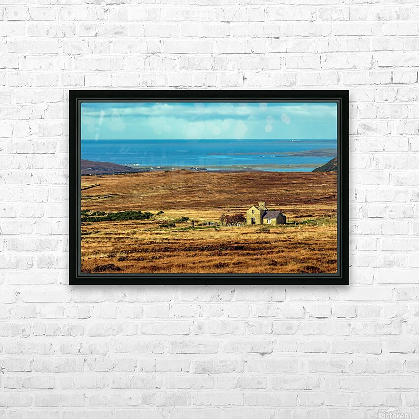Donegal 2004 205 JPG RAW Edit HD Sublimation Metal print with Decorating Float Frame (BOX)