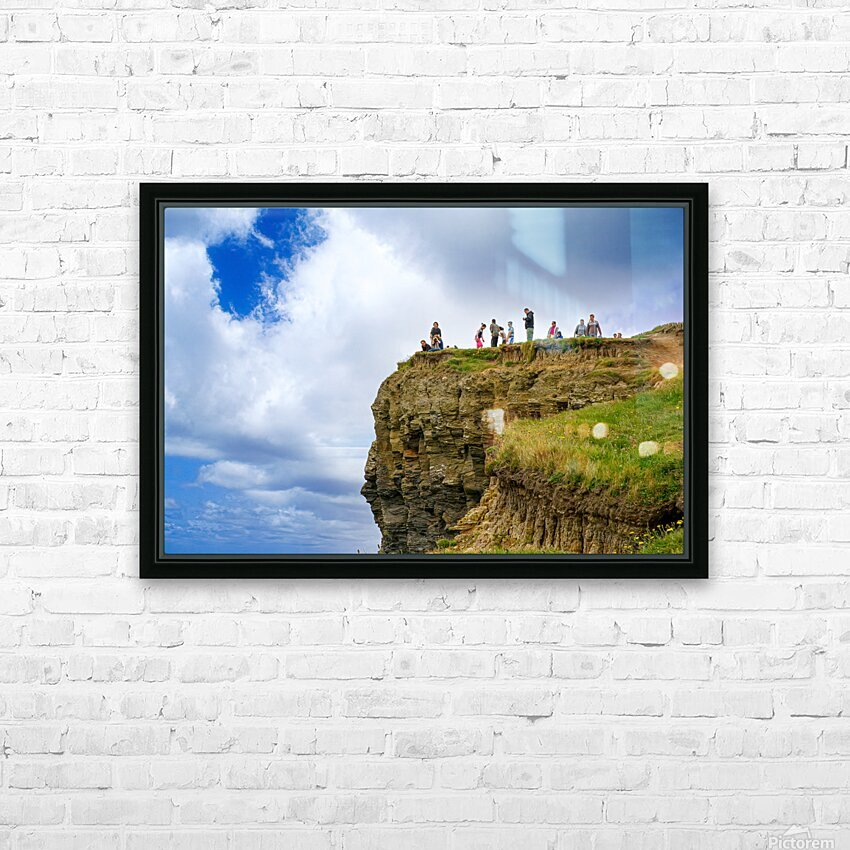 Cliffs Of Moher 3 HD Sublimation Metal print with Decorating Float Frame (BOX)