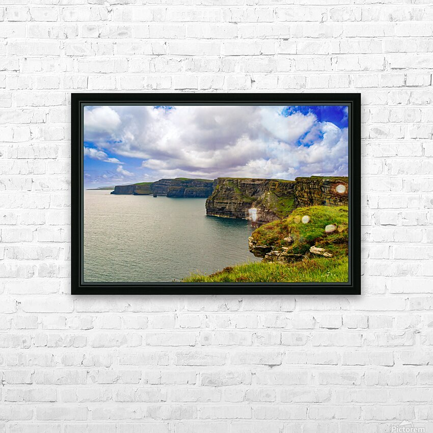 Cliffs Of Moher 5 HD Sublimation Metal print with Decorating Float Frame (BOX)