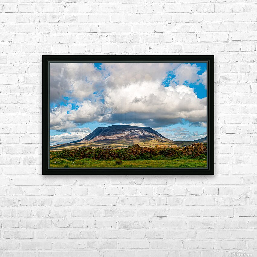 Muckish HD Sublimation Metal print with Decorating Float Frame (BOX)