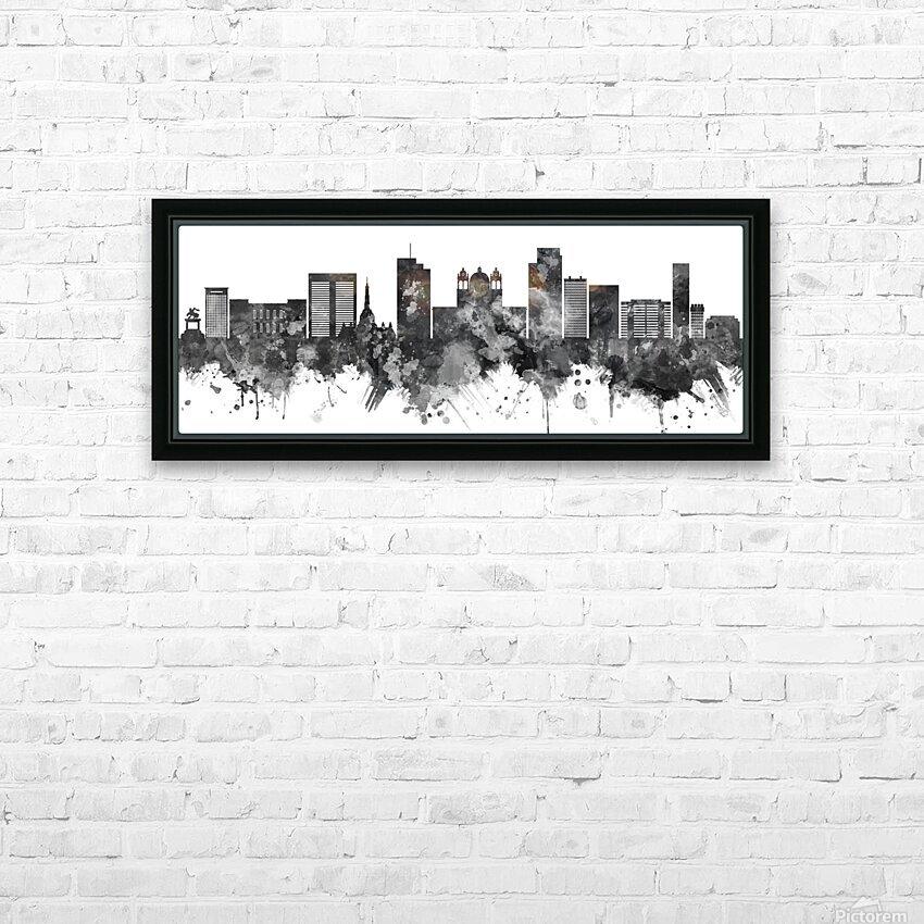 San Salvador Skyline HD Sublimation Metal print with Decorating Float Frame (BOX)