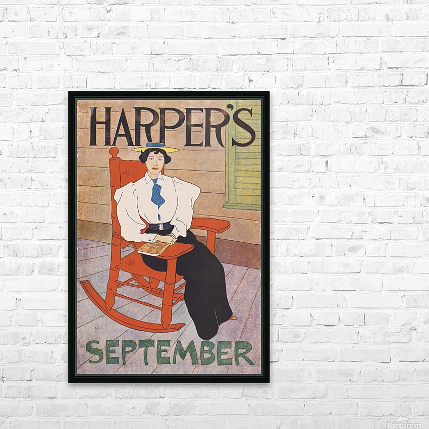 Harpers September HD Sublimation Metal print with Decorating Float Frame (BOX)