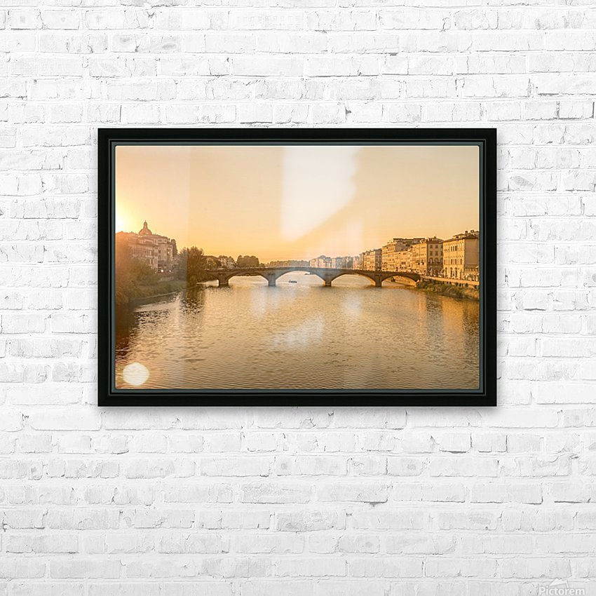 Florence HD Sublimation Metal print with Decorating Float Frame (BOX)