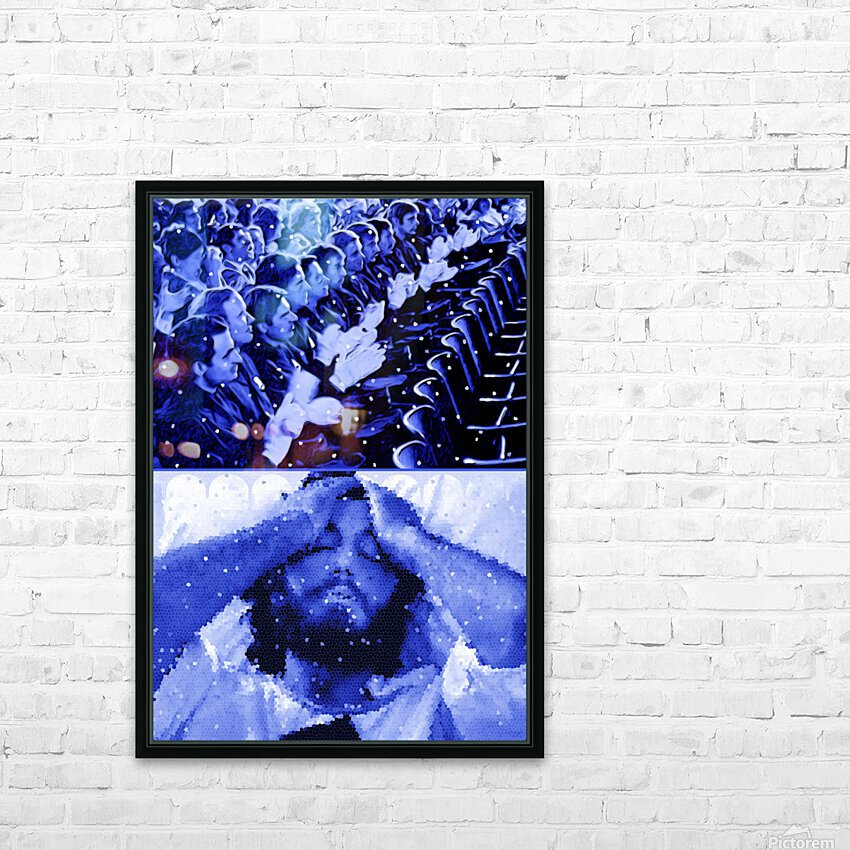 Serpico HD Sublimation Metal print with Decorating Float Frame (BOX)