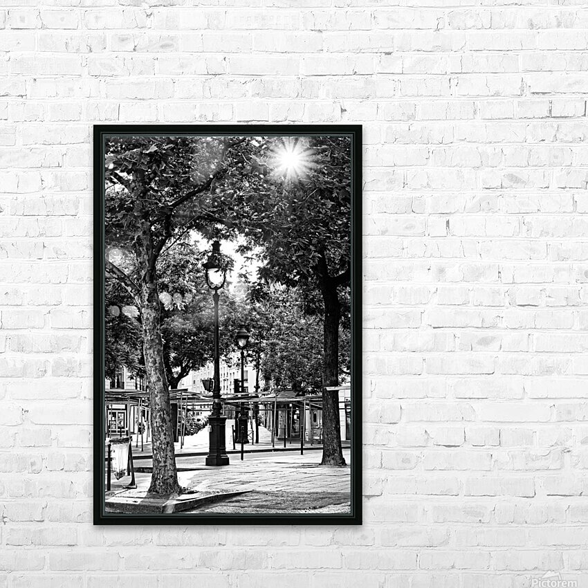 Richard Lenoir boulevard HD sublimation métal imprimé avec décoration flotteur cadre (boîte)