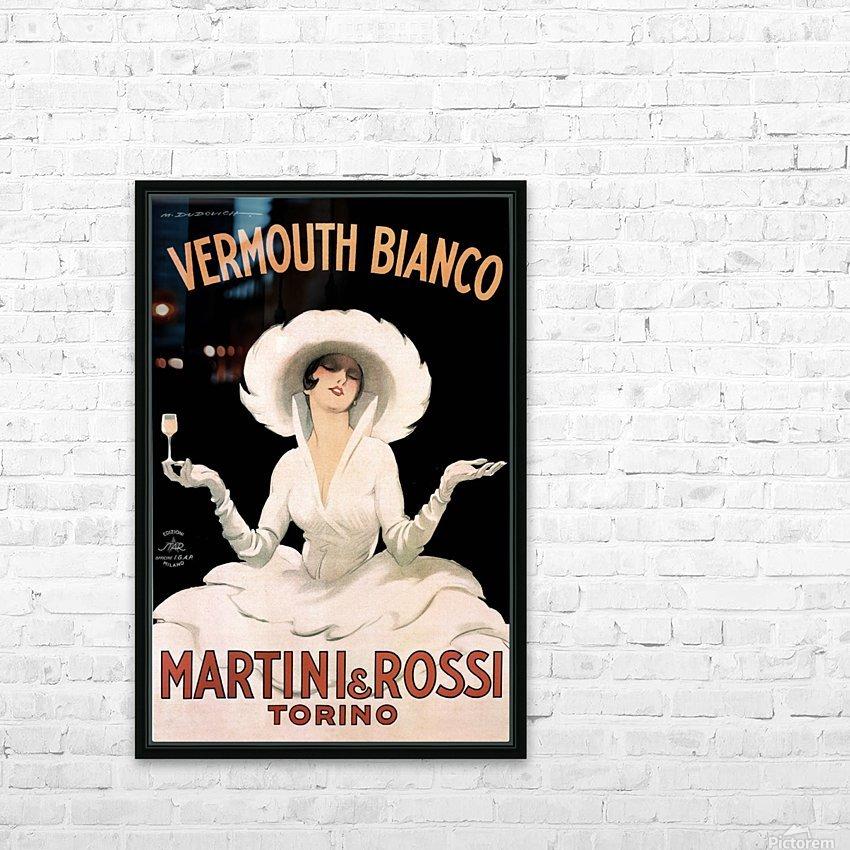 Leonetto Cappiello Cognac Monnet Vintage Ad Art Print Poster HD Sublimation Metal print with Decorating Float Frame (BOX)