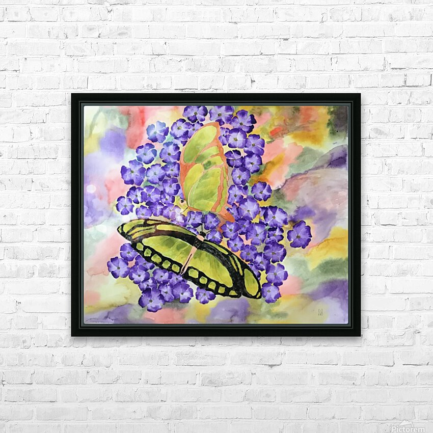 Emergence IV HD Sublimation Metal print with Decorating Float Frame (BOX)