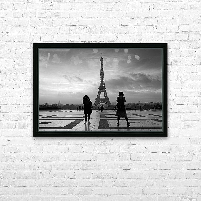 Trocadero square HD sublimation métal imprimé avec décoration flotteur cadre (boîte)