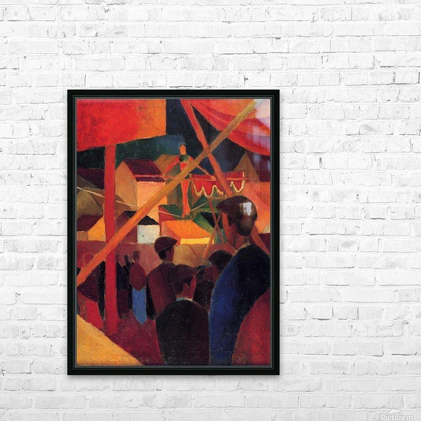 Tightrope by Macke HD sublimation métal imprimé avec décoration flotteur cadre (boîte)
