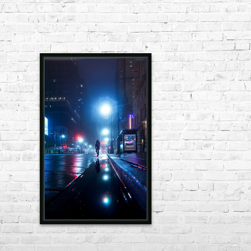 The Stranger HD Sublimation Metal print with Decorating Float Frame (BOX)