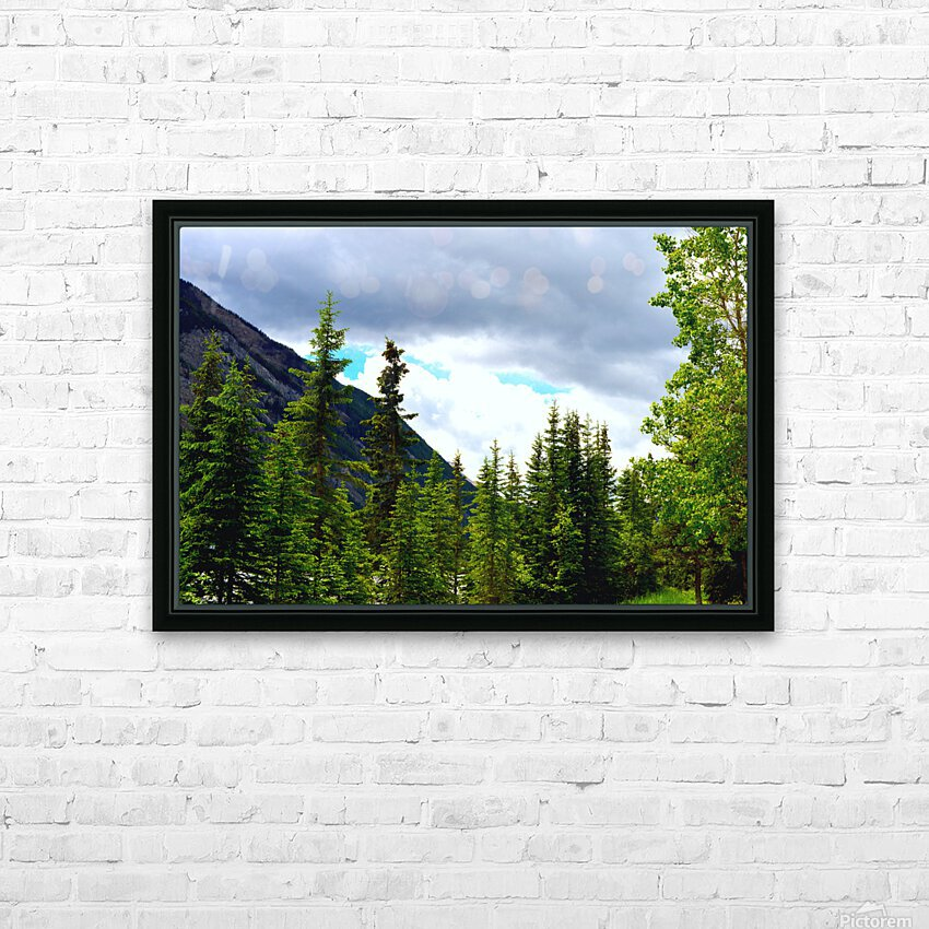 Perspective Approves HD Sublimation Metal print with Decorating Float Frame (BOX)