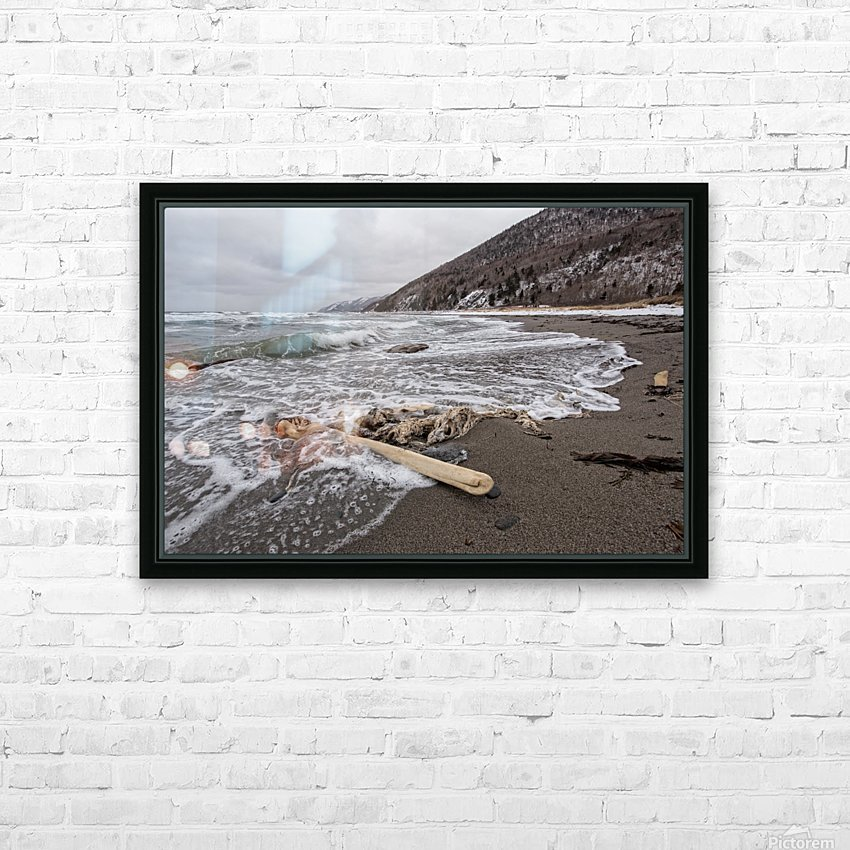 Back to the Seas HD Sublimation Metal print with Decorating Float Frame (BOX)