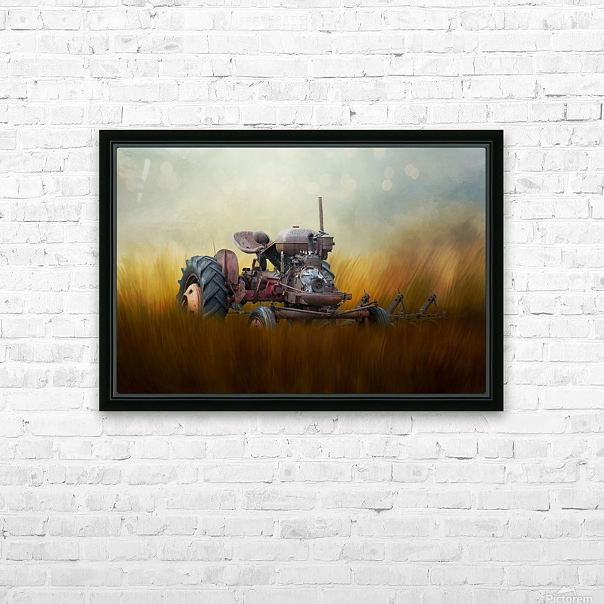 Seasons of the Past HD Sublimation Metal print with Decorating Float Frame (BOX)