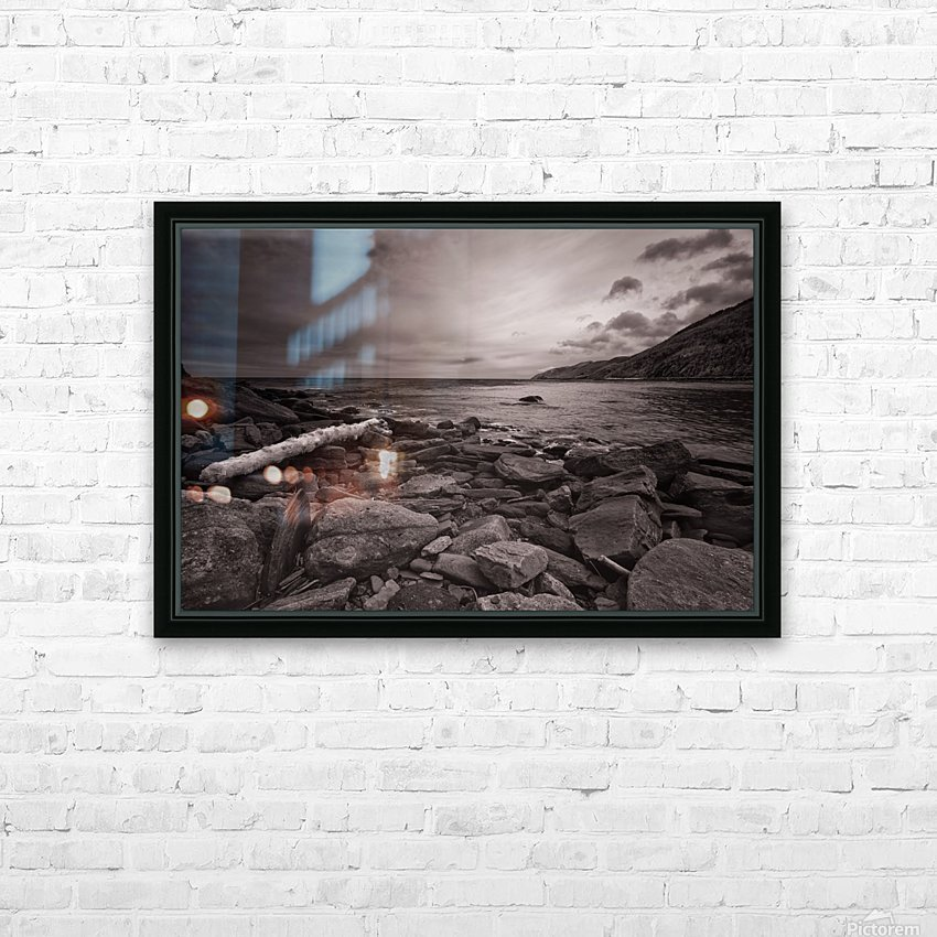 La Bloc Rocks HD Sublimation Metal print with Decorating Float Frame (BOX)