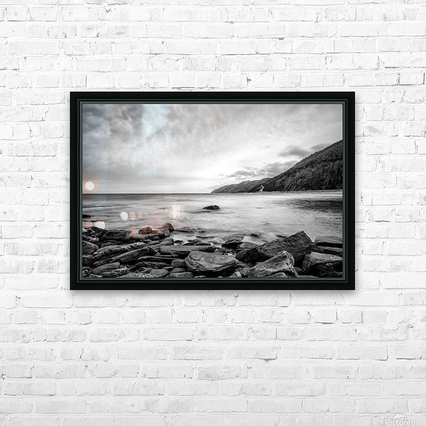 Serenity Waters HD Sublimation Metal print with Decorating Float Frame (BOX)