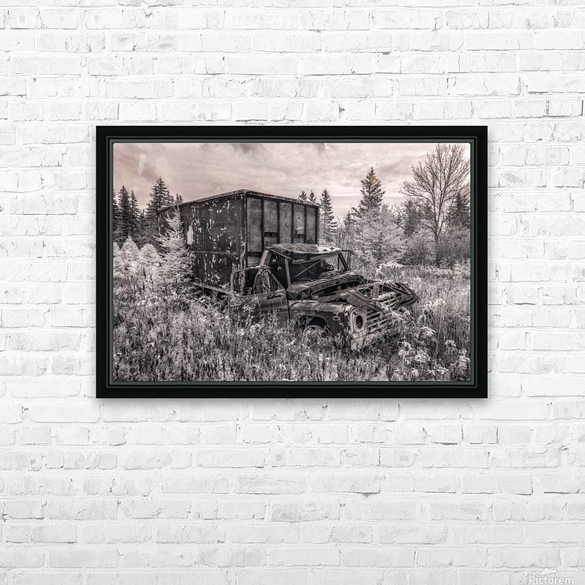 Out of Commission HD Sublimation Metal print with Decorating Float Frame (BOX)