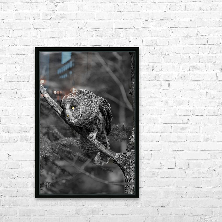Pounce HD Sublimation Metal print with Decorating Float Frame (BOX)