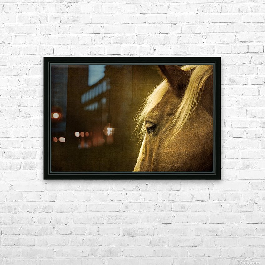 Shy HD Sublimation Metal print with Decorating Float Frame (BOX)