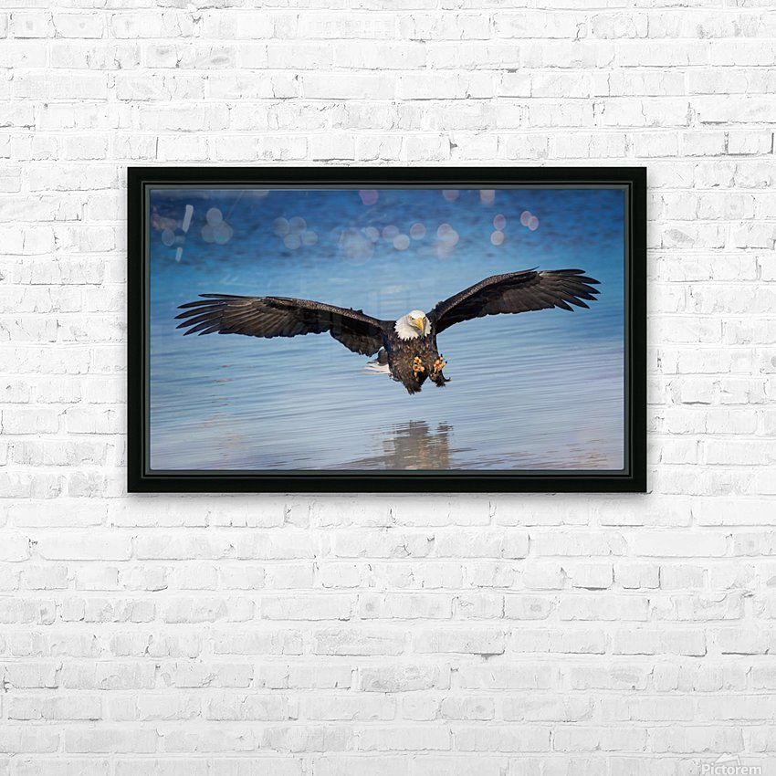 Inbound HD Sublimation Metal print with Decorating Float Frame (BOX)