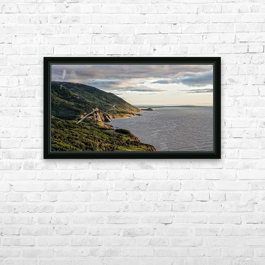 Summer on the Cabot Trail HD Sublimation Metal print with Decorating Float Frame (BOX)