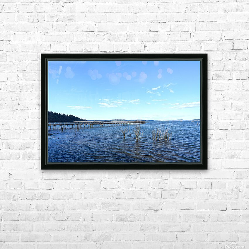 One Day at the Estuary 2 of 4 HD Sublimation Metal print with Decorating Float Frame (BOX)