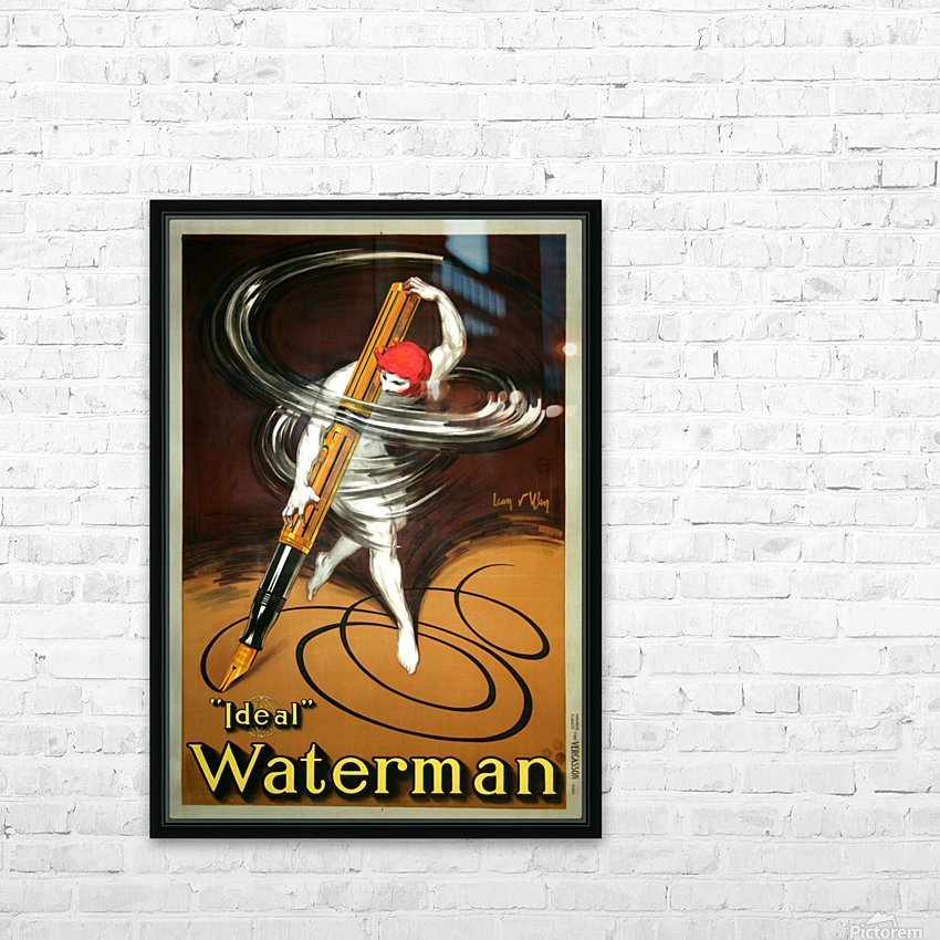 Ideal Waterman HD Sublimation Metal print with Decorating Float Frame (BOX)