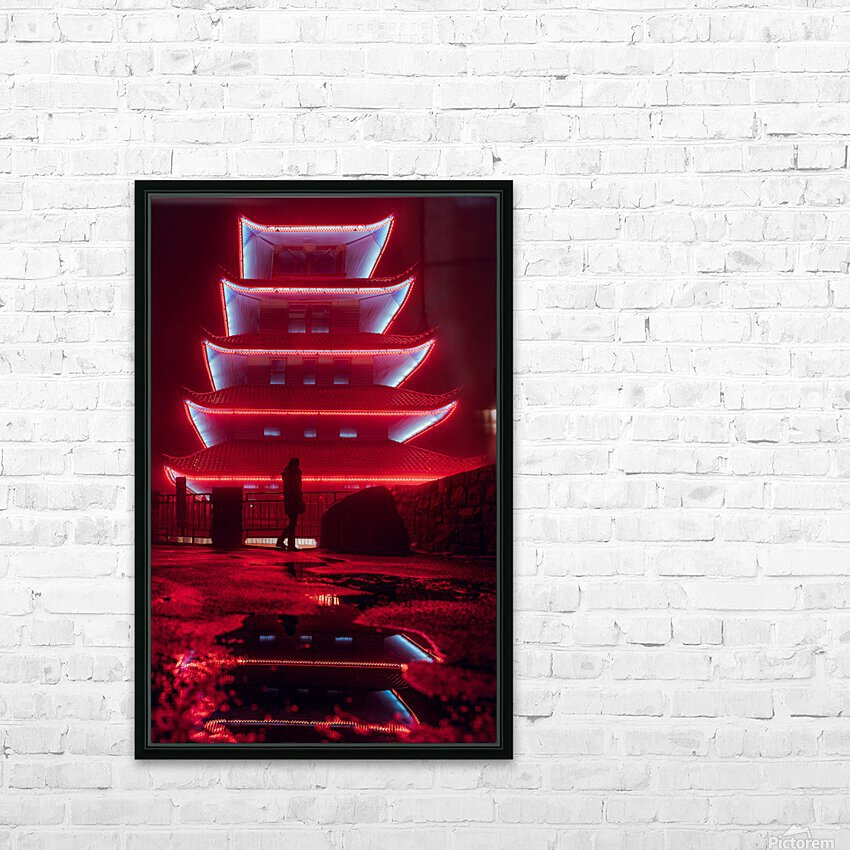 Phoenix HD Sublimation Metal print with Decorating Float Frame (BOX)