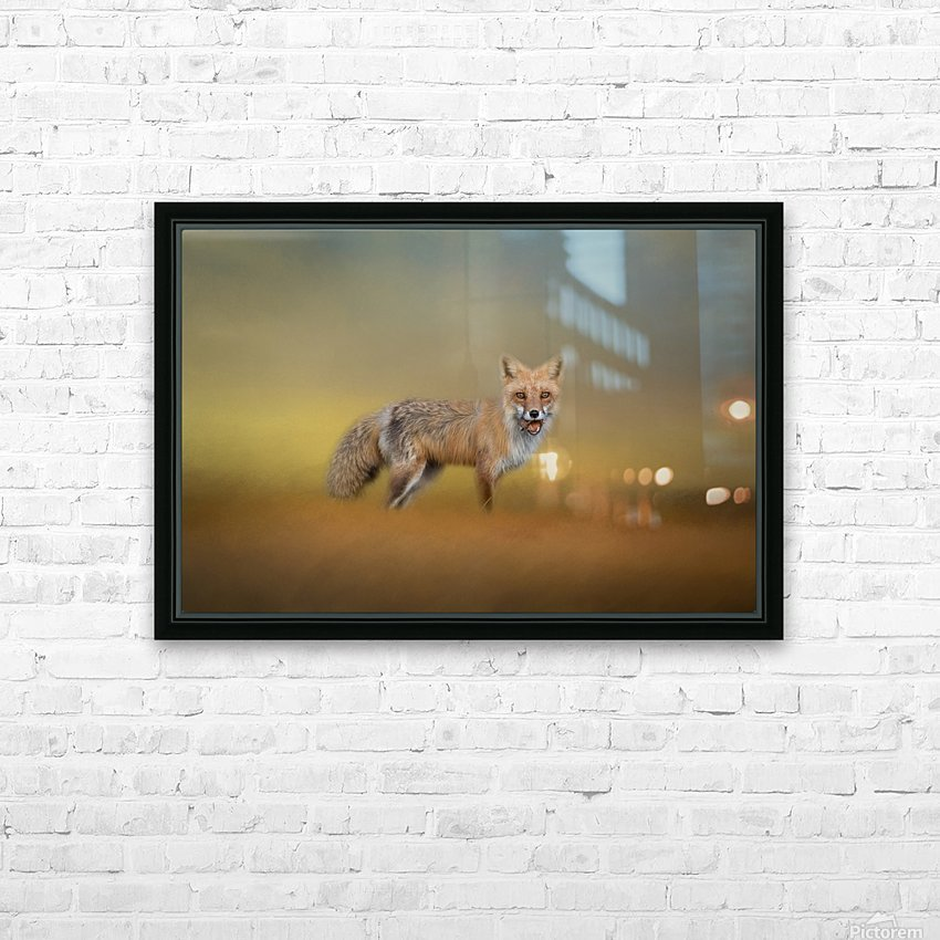 Foxy HD Sublimation Metal print with Decorating Float Frame (BOX)