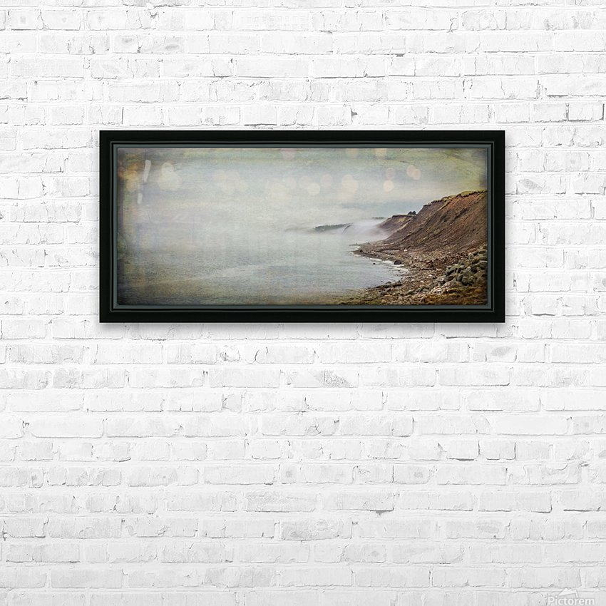 Fog in Grand Etang - Cape Breton HD Sublimation Metal print with Decorating Float Frame (BOX)