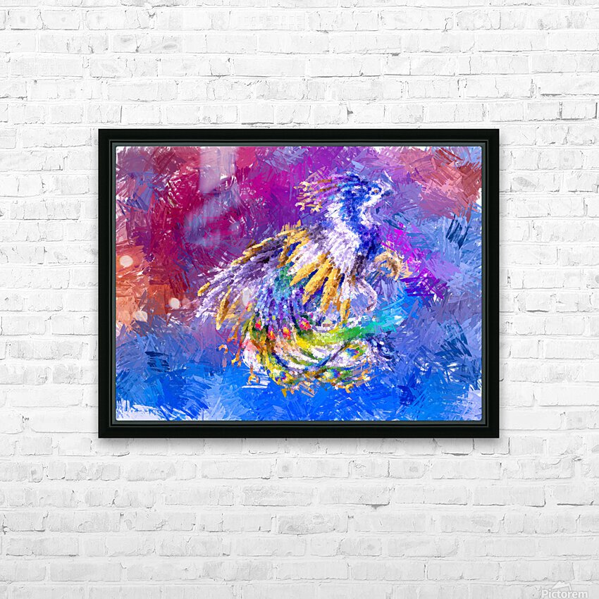 Fenix HD Sublimation Metal print with Decorating Float Frame (BOX)
