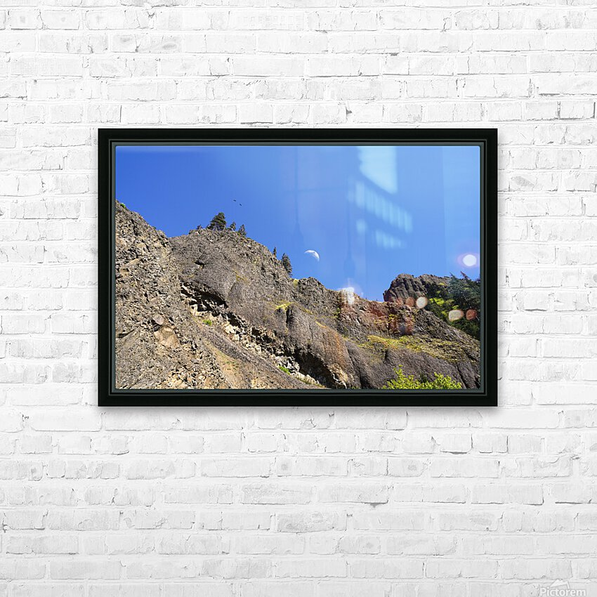 The Gorge Oregon HD Sublimation Metal print with Decorating Float Frame (BOX)