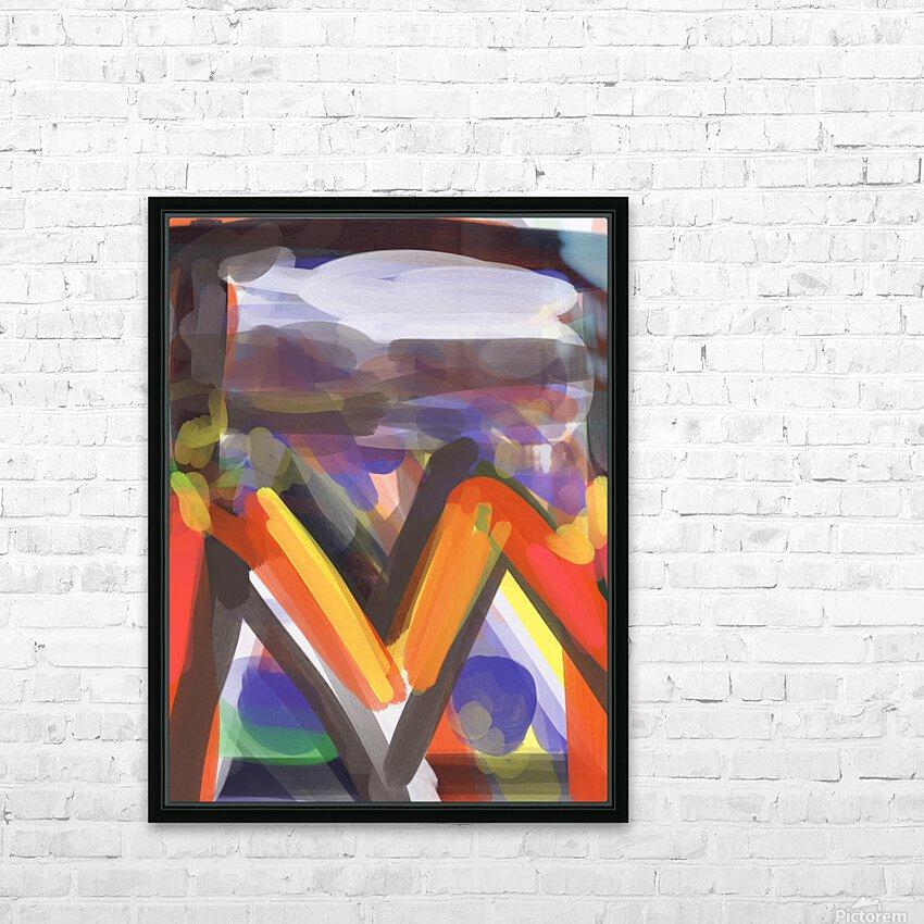 Landscape HD Sublimation Metal print with Decorating Float Frame (BOX)