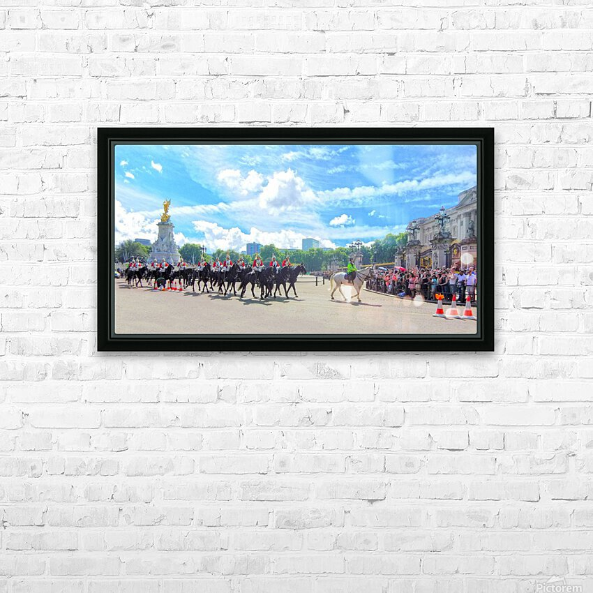 Changing of the Guard London United Kingdom HD Sublimation Metal print with Decorating Float Frame (BOX)