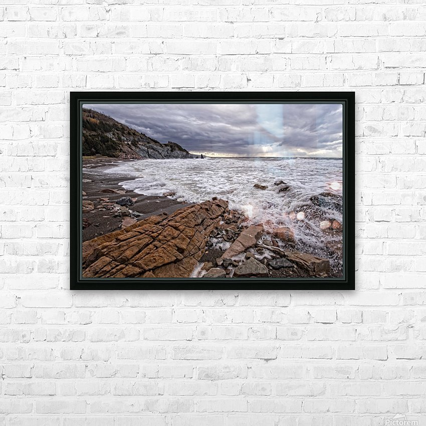 Surf at Pillar Rock HD Sublimation Metal print with Decorating Float Frame (BOX)