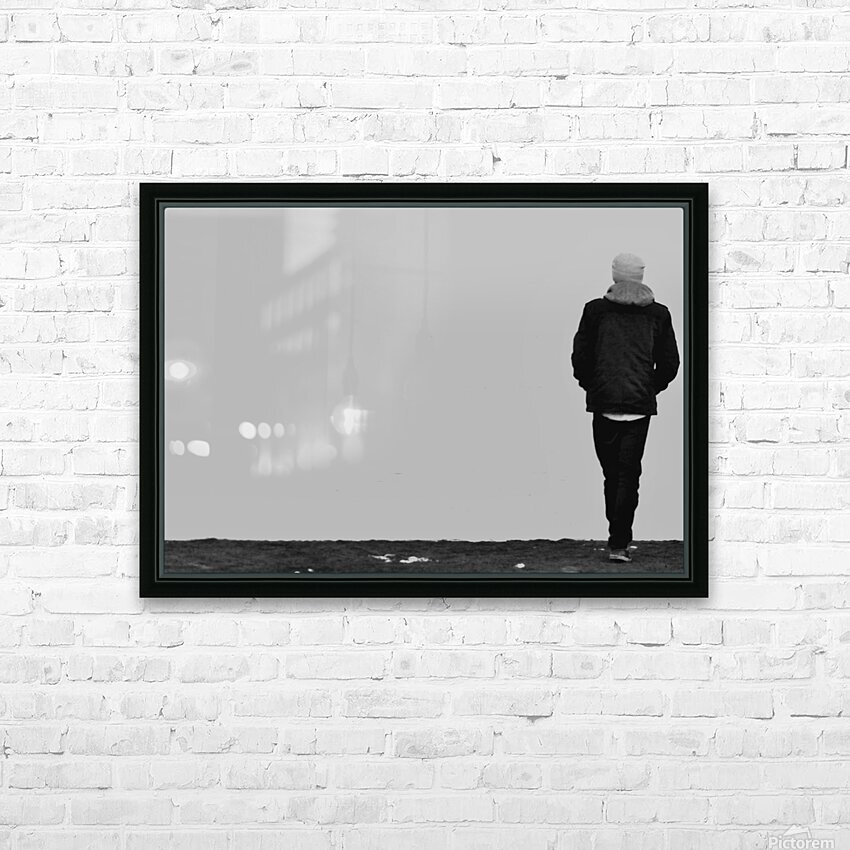 Solitude HD Sublimation Metal print with Decorating Float Frame (BOX)