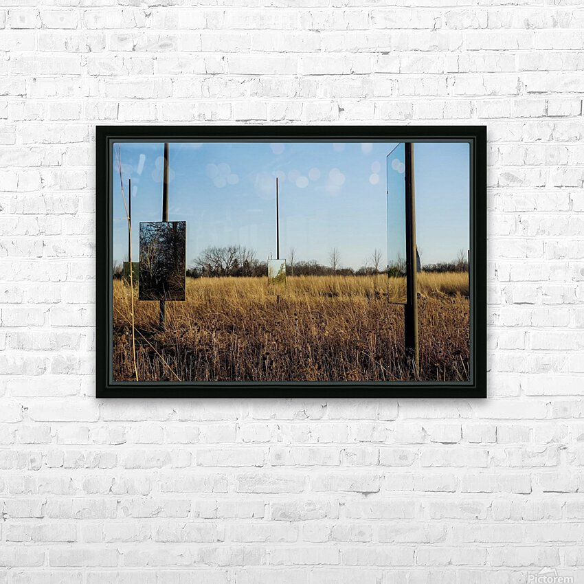 Mirror Mirror HD Sublimation Metal print with Decorating Float Frame (BOX)