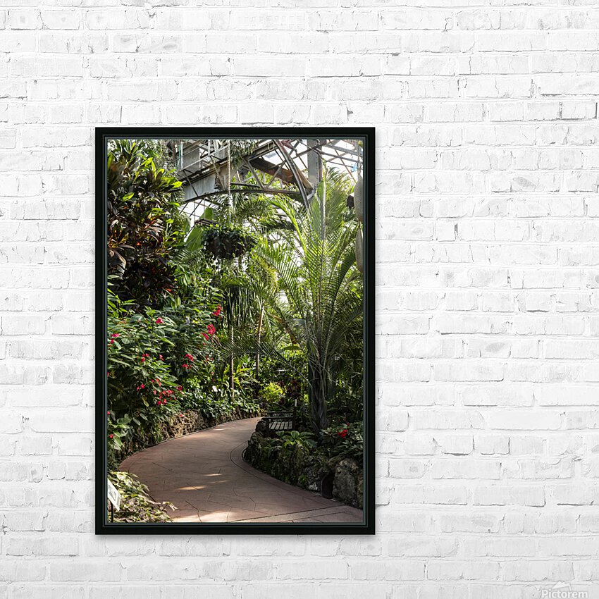 Urban Forests HD Sublimation Metal print with Decorating Float Frame (BOX)