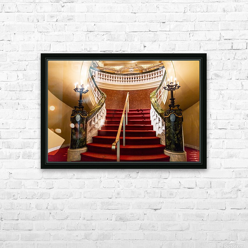 Elegents  HD Sublimation Metal print with Decorating Float Frame (BOX)