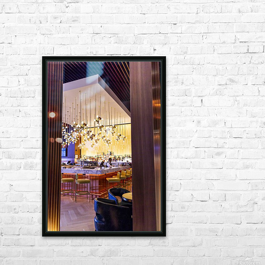 Buy Your Next Drink HD Sublimation Metal print with Decorating Float Frame (BOX)