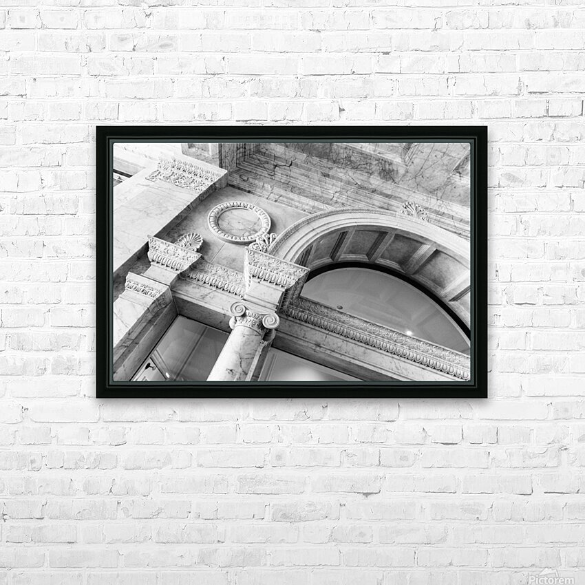 Decorating the City HD Sublimation Metal print with Decorating Float Frame (BOX)