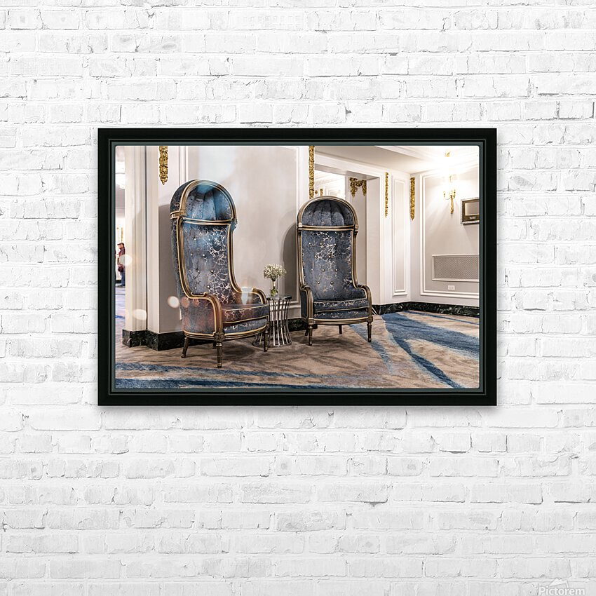 Nooks and Crannies HD Sublimation Metal print with Decorating Float Frame (BOX)