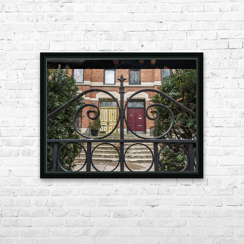 Two Neighbors HD Sublimation Metal print with Decorating Float Frame (BOX)