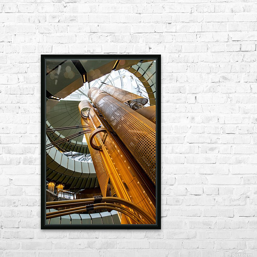 Metal Stacks HD Sublimation Metal print with Decorating Float Frame (BOX)