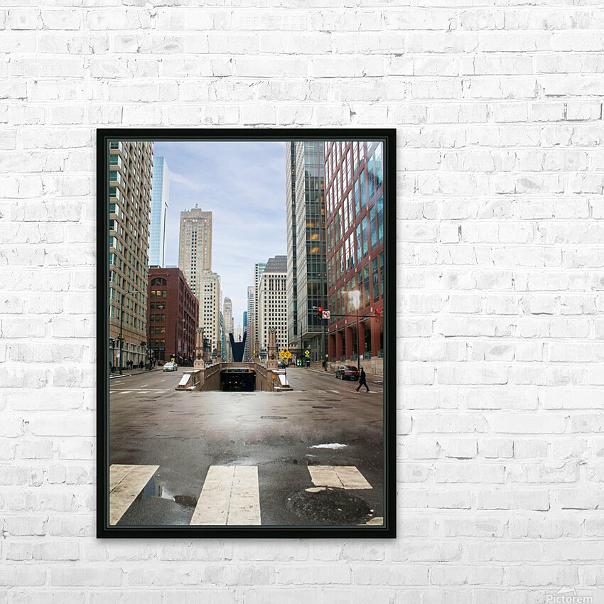 Underground HD Sublimation Metal print with Decorating Float Frame (BOX)