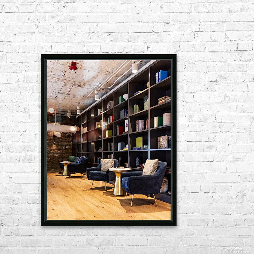 A Quiet Space HD Sublimation Metal print with Decorating Float Frame (BOX)