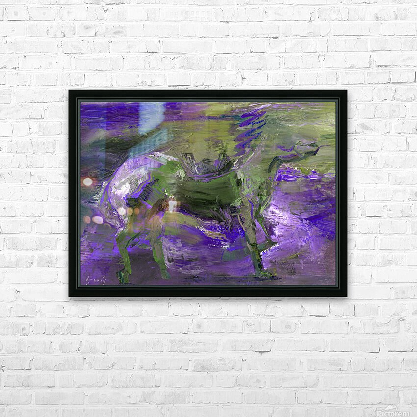 Ghost Rider - Violet HD Sublimation Metal print with Decorating Float Frame (BOX)