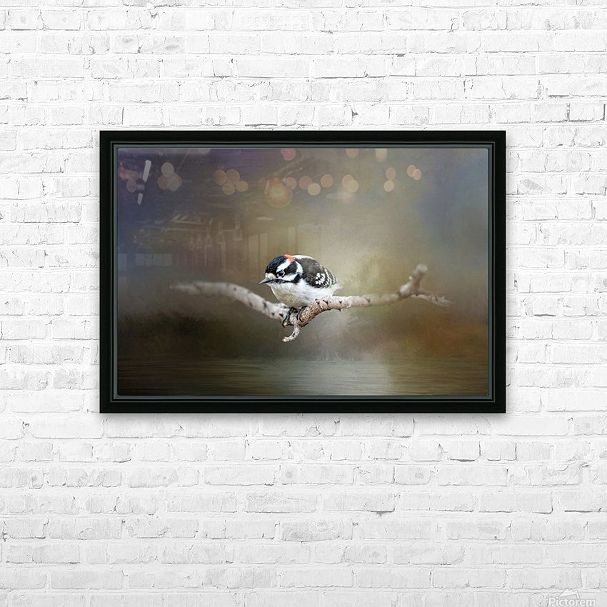 Mr Downy HD Sublimation Metal print with Decorating Float Frame (BOX)