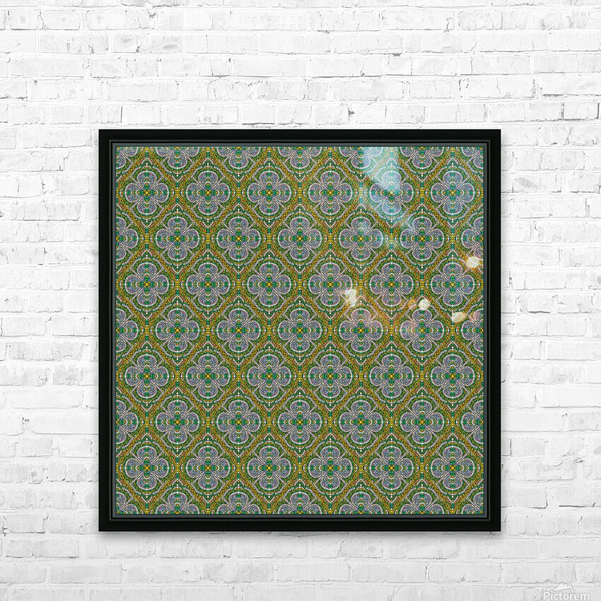 Mosaic 55 HD Sublimation Metal print with Decorating Float Frame (BOX)