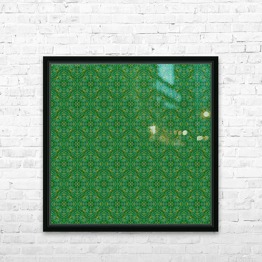 Mosaic 56 HD Sublimation Metal print with Decorating Float Frame (BOX)