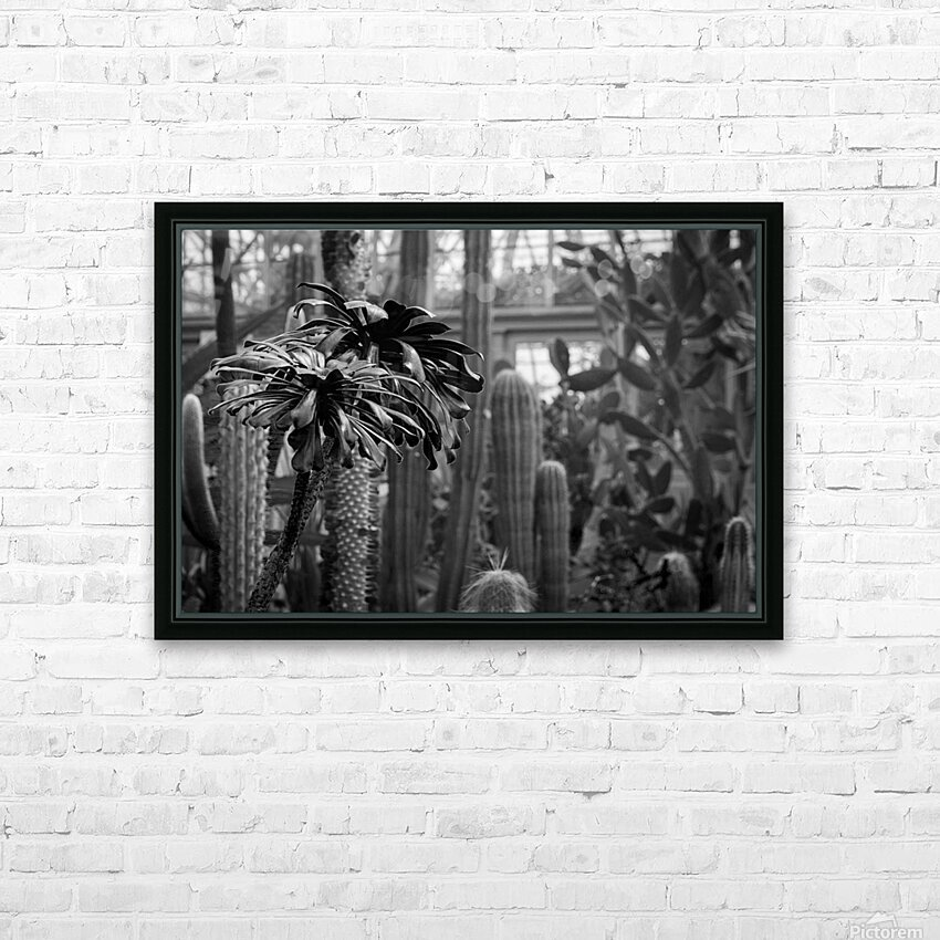 Desert in Black White HD Sublimation Metal print with Decorating Float Frame (BOX)